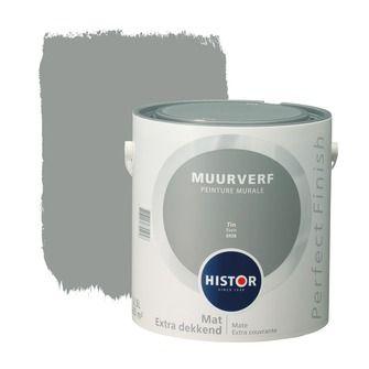 Histor Perfect Finish muurverf mat tin 2,5 l   Muurverf kleur   Muurverf   Verf & verfbenodigdheden   KARWEI