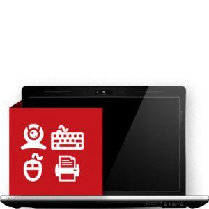 Εγκατάσταση περιφερειακών laptop
