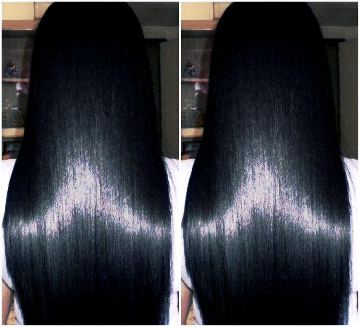 Como fazer o cabelo crescer rápido ,acabar com a queda e mante-lo liso n...