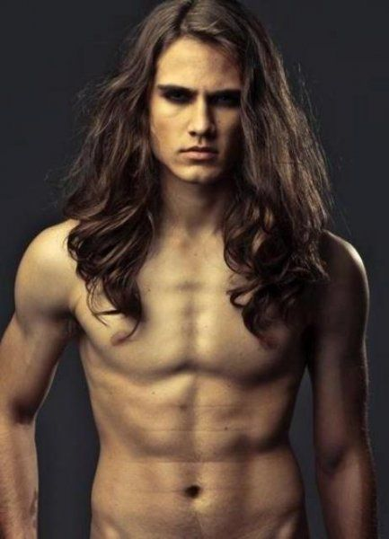 Long hair. And everything else....