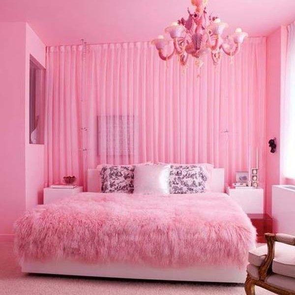 Nice pink bedroom color