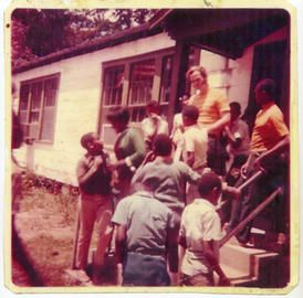 young Pat Conroy and students on Daufuskie Island | Pat ...