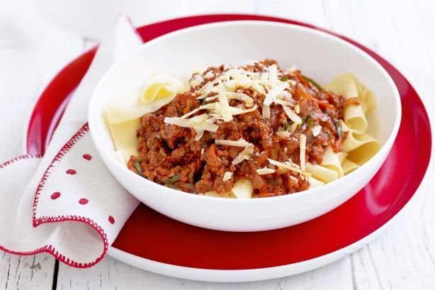 Get clever making this delightful bolognaise pasta dish that the kids will love.