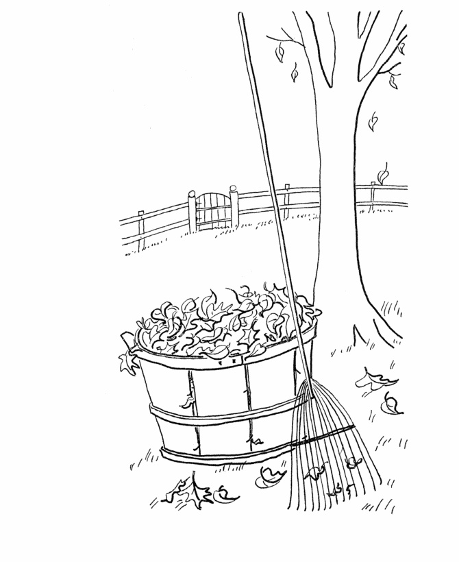 Bluebonkers Fall Coloring Sheets