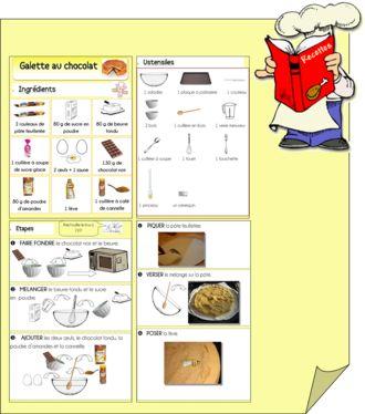 Recettes illustr es recettes illustr es pinterest - Apprendre a cuisiner facile ...