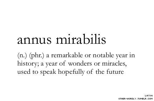 Speak hopefully of the future