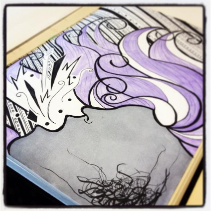 Erin Hueston sketchbook... www.erinhueston.com