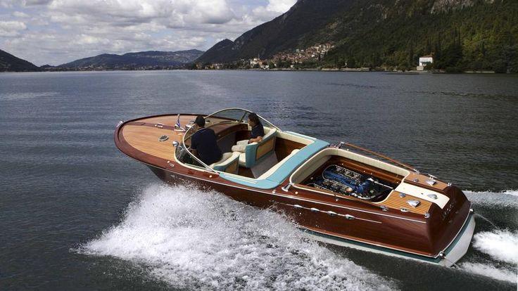BBC - Autos - From Riva, a Lamborghini-powered pleasure craft