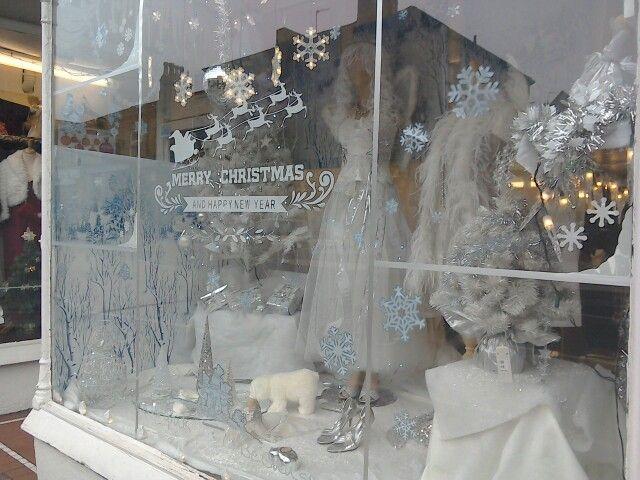 Winter Wonderland Retail Thrift Store Decor