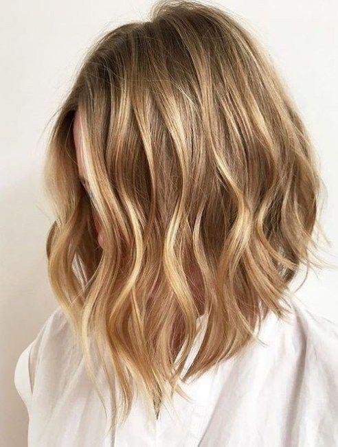 Hellblonde haare caramel farben