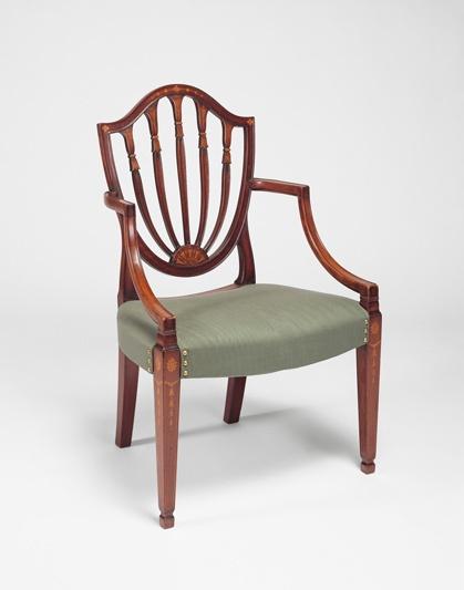 Armchair American Ca 1790 1800 Furniture 18th