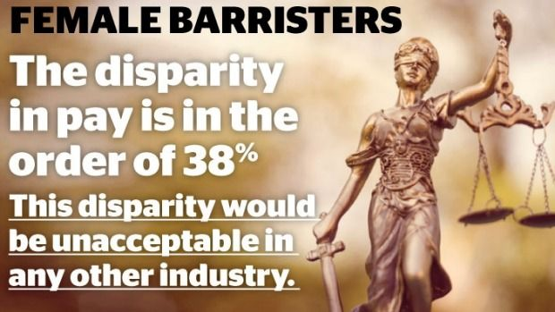 They are graduating from NSW law schools in numbers greater than their male counterparts, but women still make up just over 20 per cent of barristers, spend fewer hours in court and get paid hundreds of thousands of dollars less in fees.