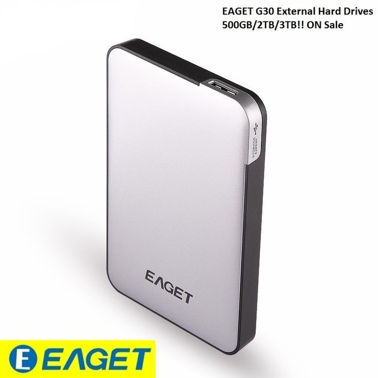 EAGET G30- 3TB 2TB 500GB USB 3.0 High Speed External Hard Drives Portable Desktop HDD Laptop Mobile Hard Disk Certified Hot Sell