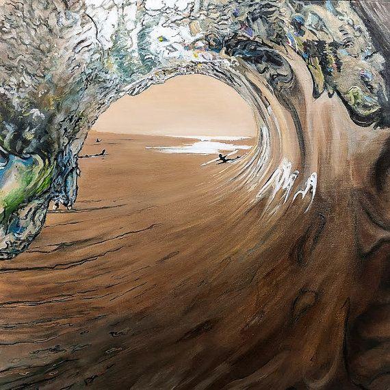 West Coast Surf by KirstenMcIntoshArt on Etsy