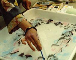 Floating ink on water jpg