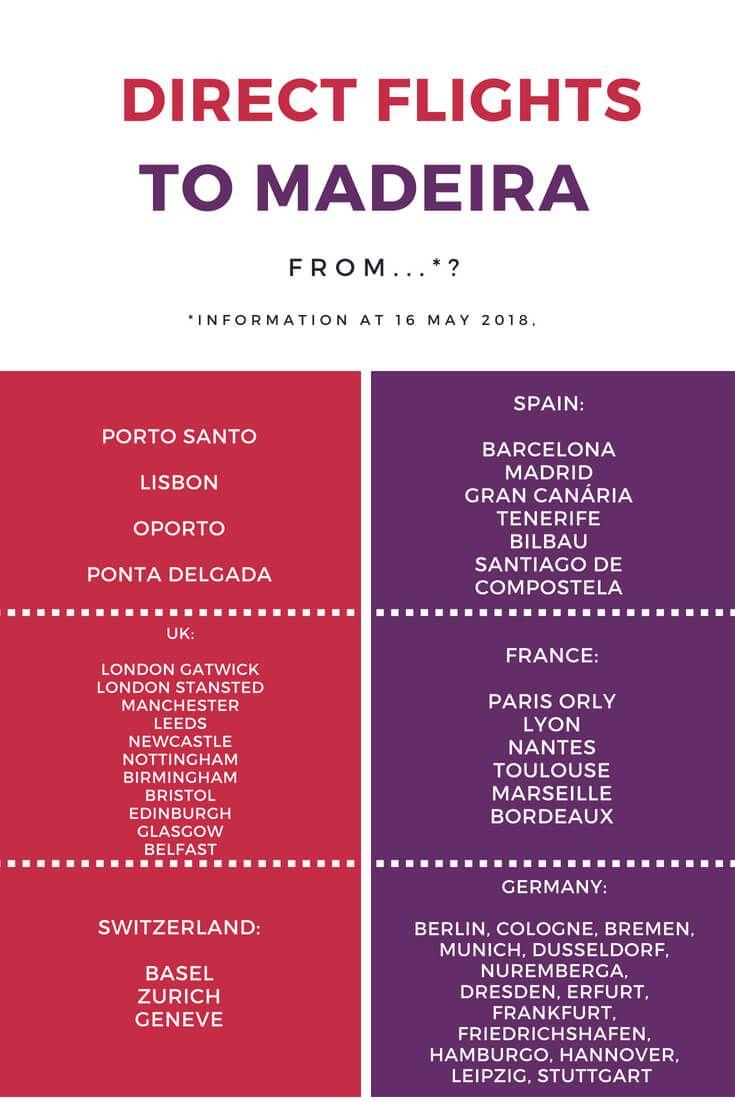 Direct Flights To Madeira From Direct Flights Porto Santo Madeira