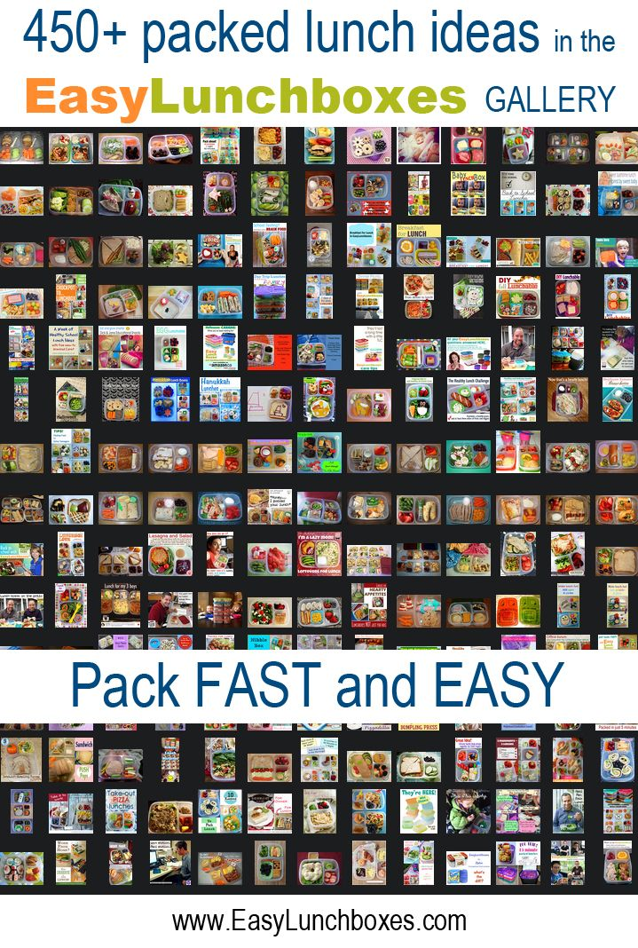 For school or work, the @EasyLunchboxes GALLERY has hundreds of packed lunch ideas: http://easylunchboxes.smugmug.com/The-Best-Lunchbox-System/Lunch-box-easy-lunch-boxes