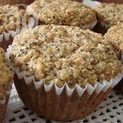 Muffins à la banane et aux graines de pavot @ allrecipes.fr