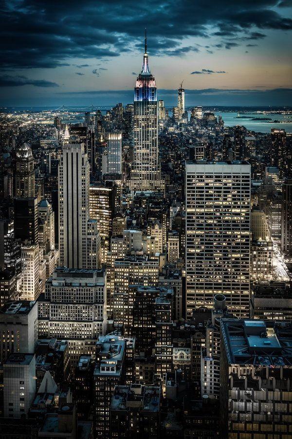 Penthouse Views, New York City