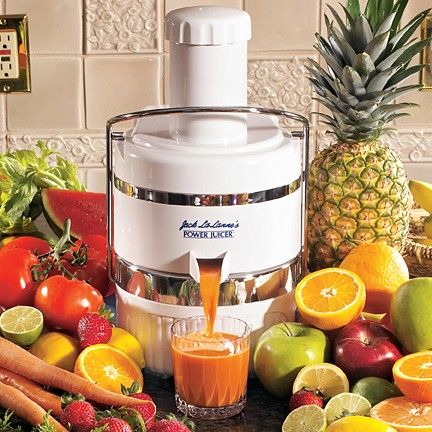 Jack La Lanne Juicer - staple in my kitchen for years, makes juicing easy and deliciously necessary!