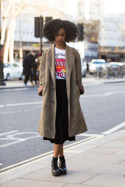 London Street Style | London Fashion Week 2014 #fashion #streetstyle #outfit