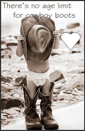 Love those little cowboys!