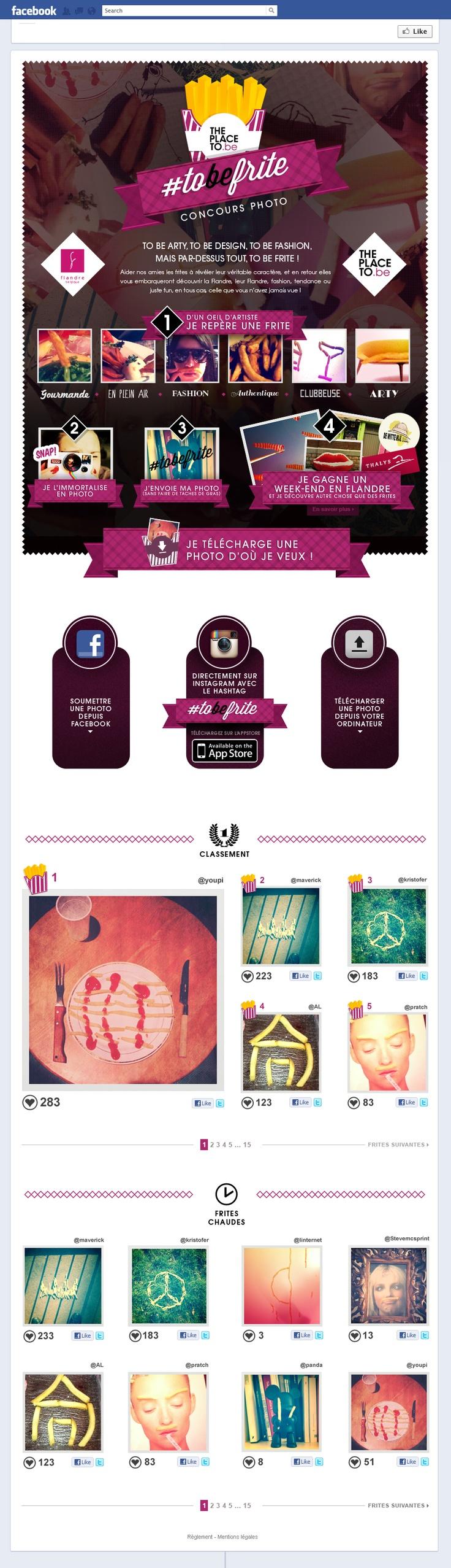 ToBeFrite - Photo Contest - Facebook & Instagram