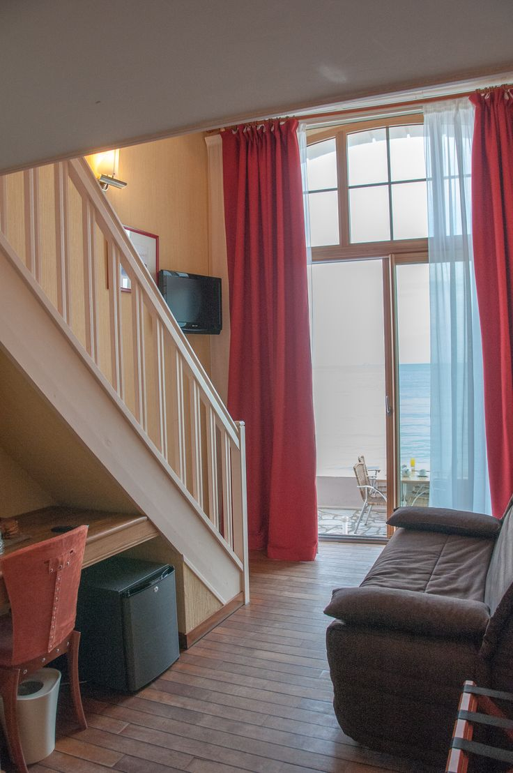 Chambre Familiale 4 personnes vue sur mer-Hotel Saint-Malo. Duplex 4 personnes vue sur mer