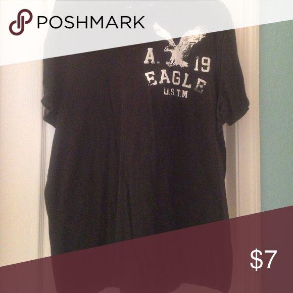 Men's American eagle shirt Black men's American eagle shirt American Eagle Outfitters Shirts Tees - Short Sleeve