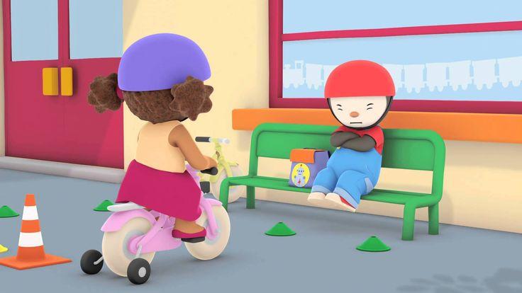 T'choupi à l'école - Le vélo rouge tout neuf