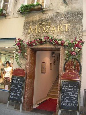 Cafe Mozart, Paris by adele