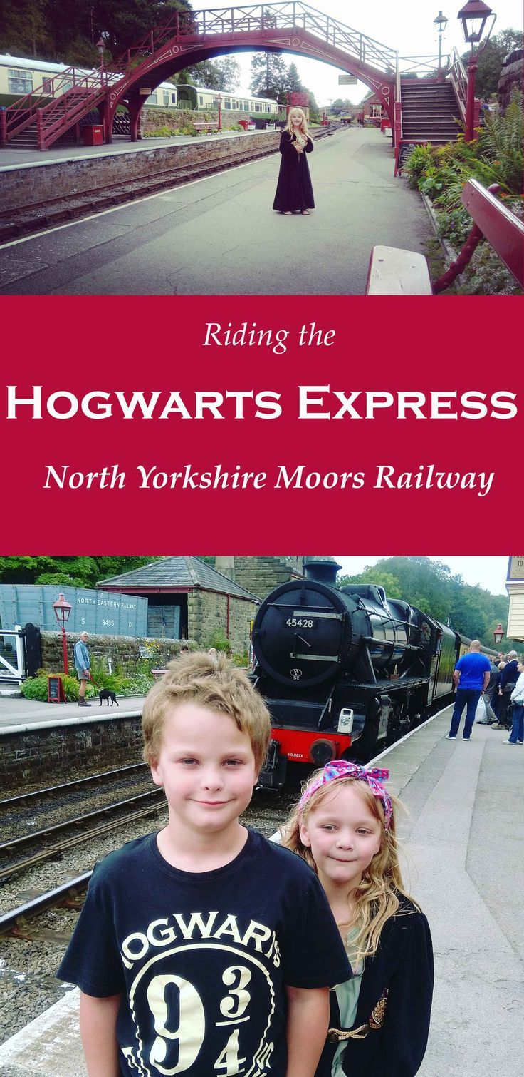 North Yorkshire Moors Railway (NYMR).  We rode the Hogwarts Express into Hogsmeade Station. It's a vintage steam train on the North Yorkshire Moors, passing through Goathland, Levisham, Pickering and Whitby.  Great day out with the kids and lots of Harry Potter memories!