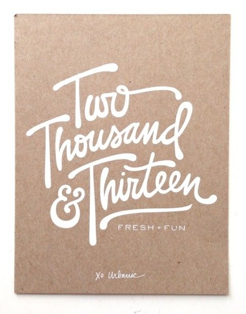 Mixed typography inspiration | From up North