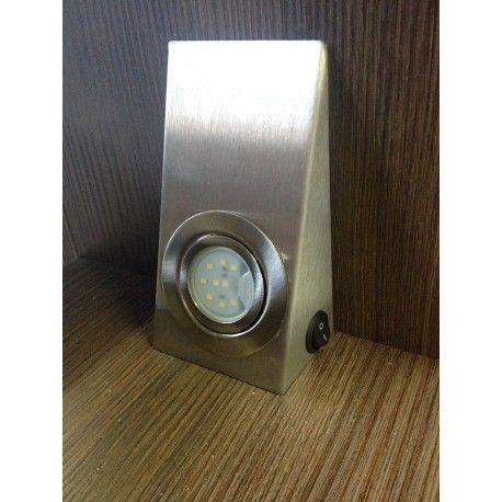 Oprawa Prostokątna Led Aluminium Szczotkowane z wył.