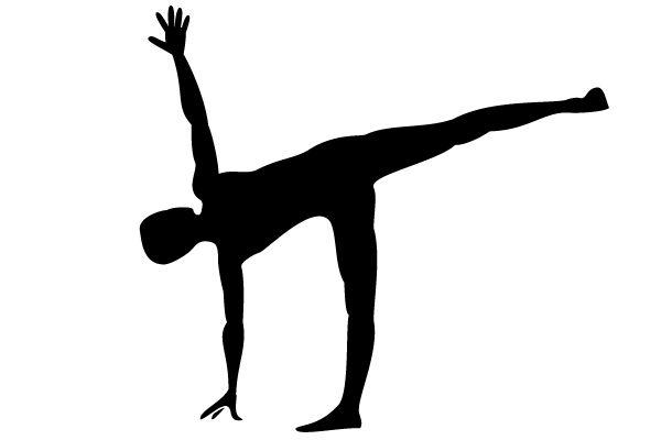 Ardha Chandrasana - strona poświęcona jodze (ze zbiorem pozycji)