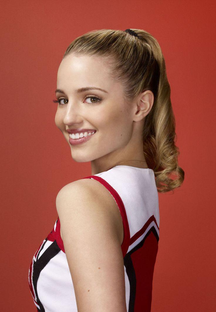 Dianna Agron as Quinn Fabray.
