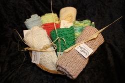 Oppvaskklut strikket i 100%bomull