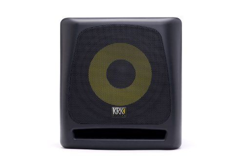 KRK K10S Powered Subwoofer - 10 Inch, 225 Watts by KRK. $399.00. Amazon.com                 The KRK K10S powered subwoofer is designed to extend the low frequency portion so your mix can be properly engineered. The K10S cabinet has radically curved surfaces for a great look and amazing performance. The front-firing bass port and KRK's trademark yellow glass-aramid composite woofer ensure accurate and powerful low-end punch. A sturdy grill which is removable protects ...