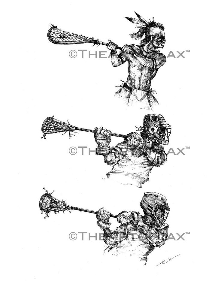 This is a cool evolution of lacrosse from Native Americans, to the 70's-80's when the game was reinvented, to modern times.
