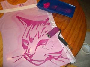 As someone who really appreciates ghostpatrol street art, I was inspired to make this tutorial for t-shirt design. MATERIALS I use acetate…
