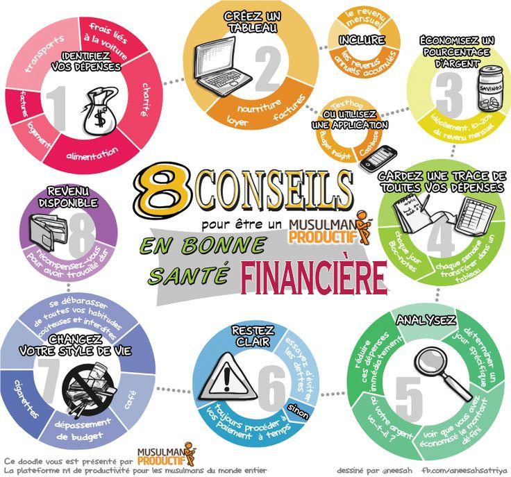 8 astuces pour être en bonne santé financière