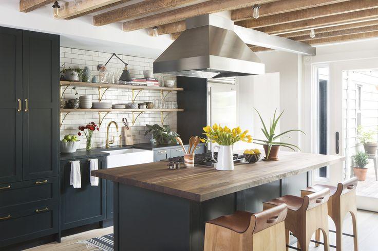 Semihandmade DIY Shaker Ikea Kitchen courtesy of Alison Jennison Interiors