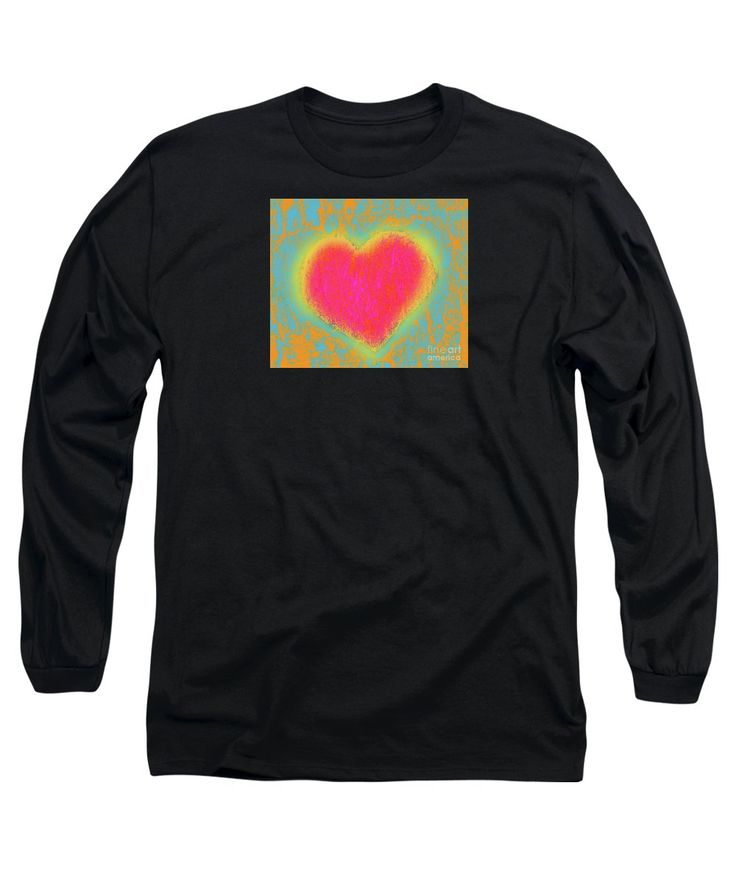 Heart Long Sleeve T-Shirt featuring the digital art Simple Digi Heart by…