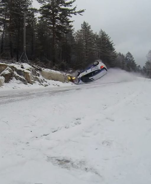 Rally Drivers Fly Into Icy River At 100mph! Hit the link to watch...  #Epic #CarCrash #Miracle
