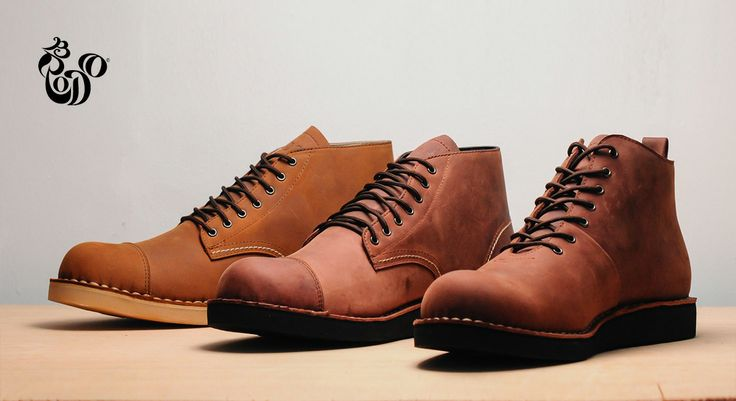 Boots Series from Brodo Footwear. Visit http://bro.do/id/  #shoes #boots #men #fashion
