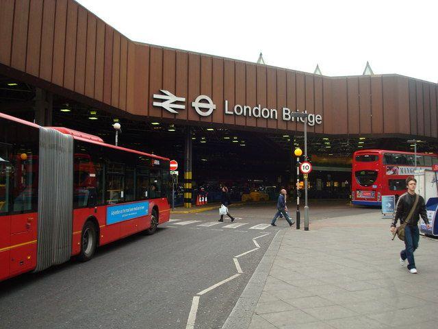 London Bridge Railway Station (LBG) in London, Greater London