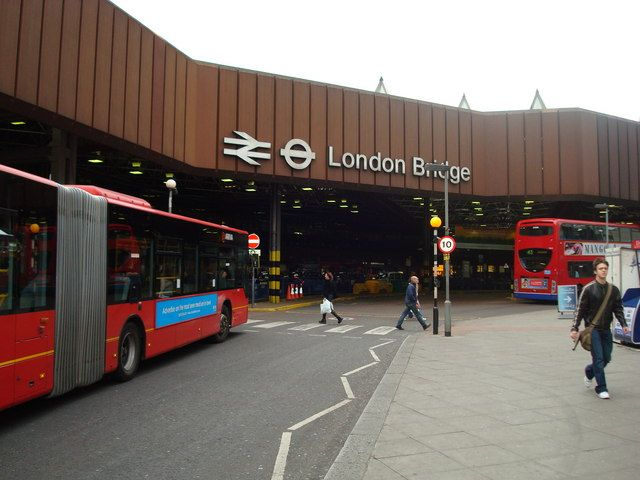 London Bridge Railway Station (LBG) in London, Greater London