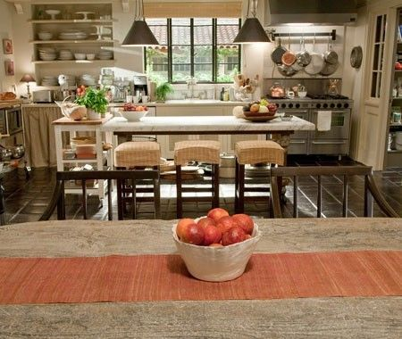 Movie Interiors // It's Complicated — Country Kitchen // Photography courtesy of Melinda Sue Gordon, Universal Pictures