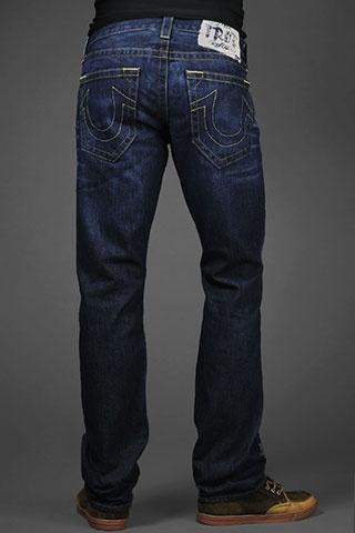 True Religion bobby ghost logo jeans