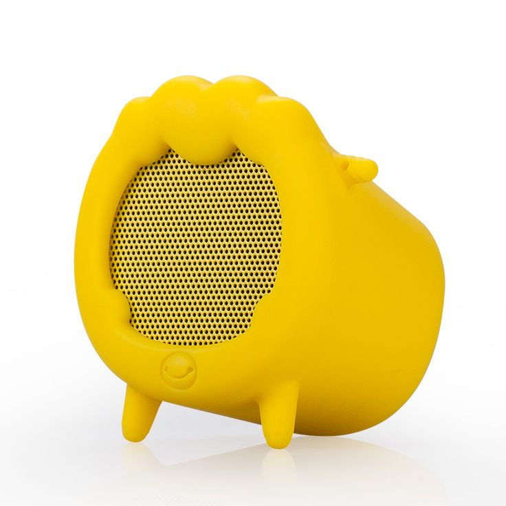 $20.34 | MOMAX Sheep Pattern Portable Wireless Stereo Bluetooth Speaker w/ Microphone - Yellow - SealSmile.com